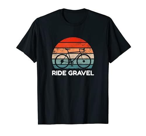 Gravel Bike Ride Gravel camicia da ciclocross con bici da corsa Maglietta