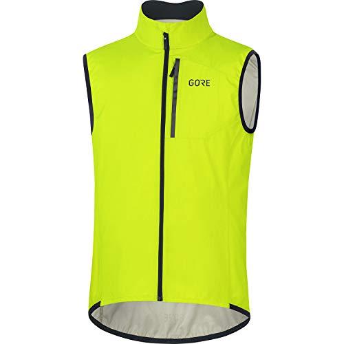 GORE WEAR Gilet da Ciclismo per Uomo Spirit, GORE-TEX INFINIUM, L, Giallo (Giallo Neon)