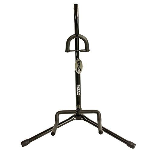 RockJam Supporto verticale portatile universale per chitarra per chitarra acustica, chitarra elettrica e basso