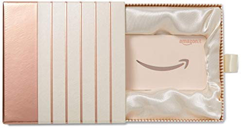 Buono Regalo Amazon.it - Cofanetto rosa-oro