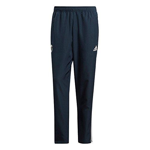 adidas Real WOV Pnt Pantaloni Sportivi, Uomo, Tech Onix/Core White, S