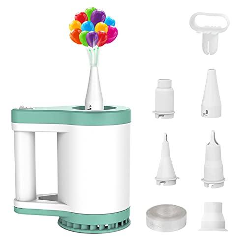Pompa elettrica per materassino gonfiabile e palloncini, gonfiatore per pompa a palloncini elettrico multifunzionale per feste di compleanno, feste di Natale e matrimoni