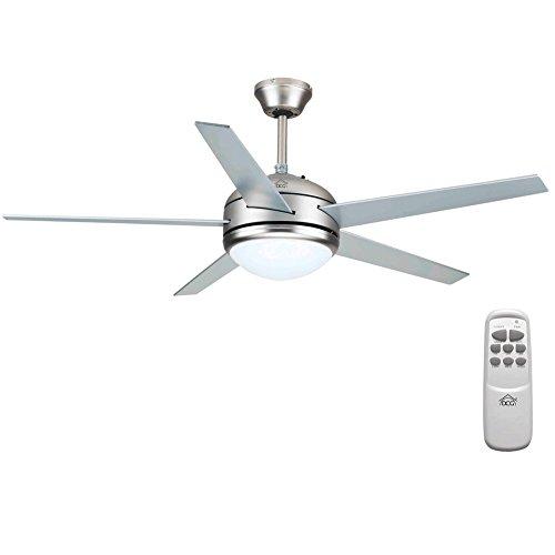 DCG I6-TAO5-4XRA Ventilatore a Soffitto 5 Pale con Telecomando