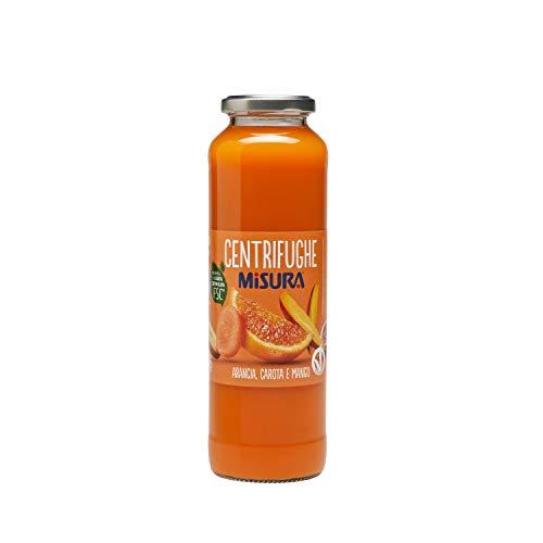 Misura Centrifughe Frutta e Verdura Natura Ricca  Arancia, Carota e Mango   Bottiglia 690 ml