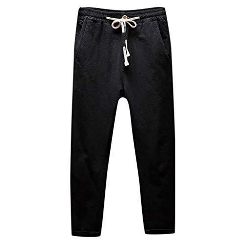 Uomo Pantaloni Sportivi per Jogger da Ginnastica Tuta Bottoms da Jogging a Coulisse Pantaloni da Corsa con Tasca Taglie Forti Pantaloni da Lavoro