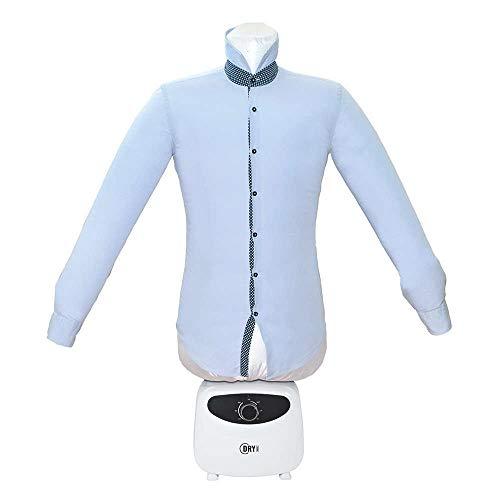 Dry Magic, asciugatore 2 in 1, asciugatura e stiratura, manichino ad aria calda, non necessita di stiratura, asciugatura rapida (Stira-camicie)