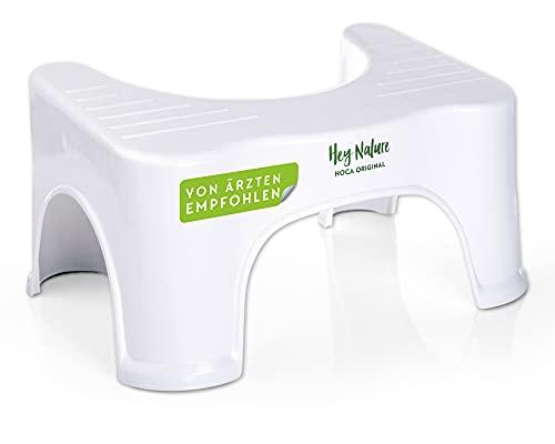 HOCA Original sgabello fisiologico da toilette medico contro emorroidi, stitichezza, colon irritabile, flatulenza, gonfiore – il rimedio semplice ed efficace – per una sana flora batterica intestinale