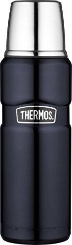 Thermos, Bottiglia Isolante Stainless King, in Acciaio Inox Satinato, capacità 0,47 l, codice Prodotto 4003.205.047, Blu, 4003.256.047