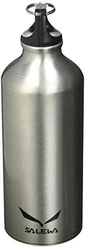 Salewa Traveller Alu Borraccia in Alluminio, Unisex adulto, Cool Grey, Taglia Unica