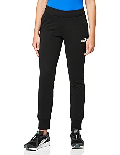 PUMA Ess TR Cl, Pantaloni Donna, Nero (Cotton Black), L