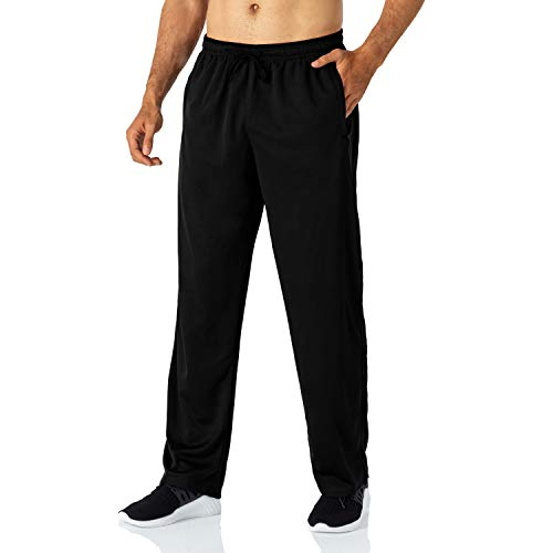 Butrends Pantaloni da Jogging da Uomo Pantaloni Sportivi Pantaloni da Corsa Leggeri con Tasche con Zip Pantaloni Sportivi in Vita Elasticizzata Pantaloni a Gamba Dritta Casuale