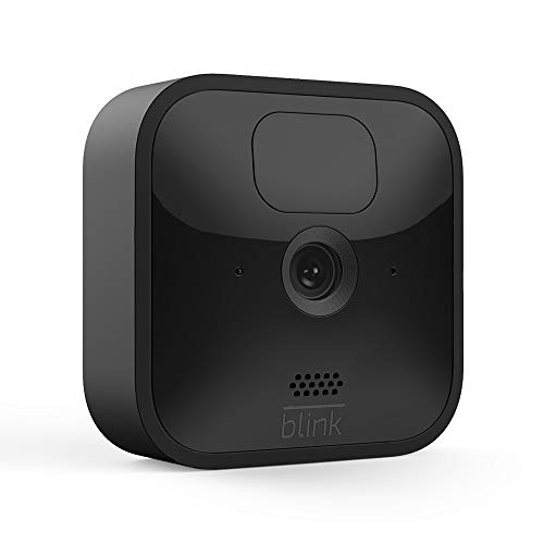 Blink Outdoor, Videocamera di sicurezza in HD, senza fili, resistente alle intemperie, batteria autonomia 2 anni, rilevazione movimento   1 videocamera