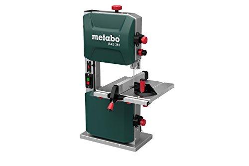 metabo 619008000 Sega a Nastro, 400 W, 230 V, Verde