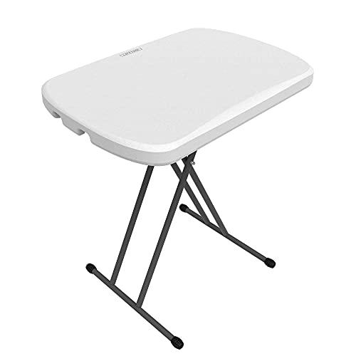 Lifetime, tavolino Pieghevole 80251 0,66 m Personale, Bianco