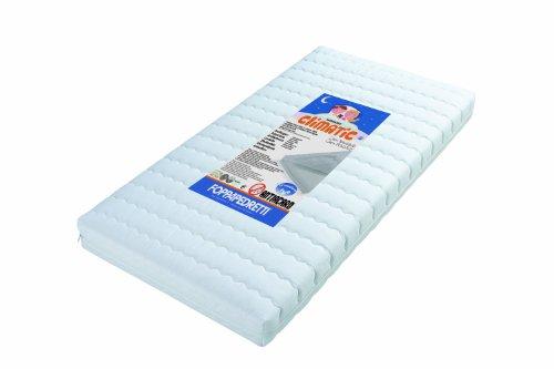 Foppapedretti Climatic Materasso 124 x 63 x 12 cm, Bianco