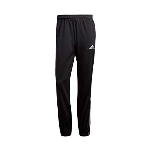 Adidas Core18 PES, Pantaloni Uomo, Nero (Black/White), L