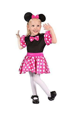 Ciao Topina rosa costume bambina, 4-6 Anni