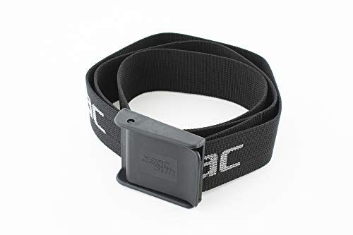 SEAC Cintura Sub Nylon Black/Silver, piombi Unisex Adulto, Multicolore-Nero, Unica
