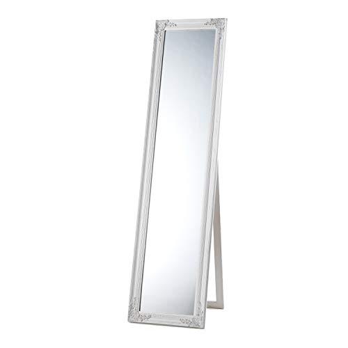MONTEMAGGI Specchio da Terra con Cornice Rettangolare Lunga 40X4X160 cm Variante unica