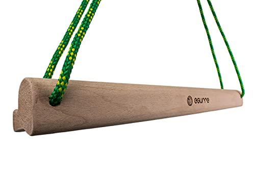 Erlea hangboard portatil de madera - tabla entrenamiento fuerza de dedos