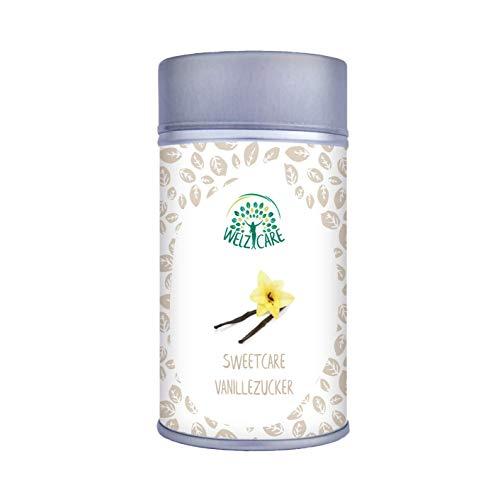 Vaniglia di zucchero di SweetCare, il sostituto da zucchero con Erythritol, Stevia e vaniglia di bourbon del Madagascar eccellente l'alternativa naturale a zucchero