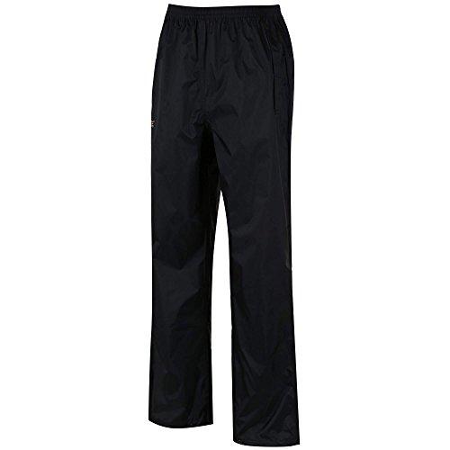 Regatta Pack It, Pantaloni da pioggia Uomo, Nero (Black), M