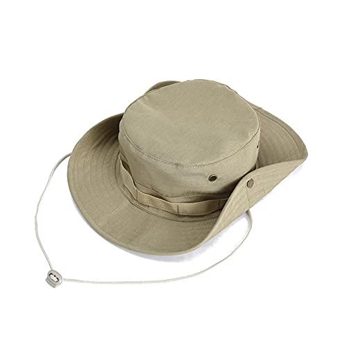 Cappello da Pesca,Cappello Safari Cappello da Sole Anti UV Tesa Larga Cappelli per Esterno,Escursionismo,Campeggio,Viaggi