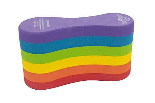 SWIMXWIN Pull Buoys da Allenamento Nuoto PRO6 Rainbow | Taglia Adulto | Design Italiano