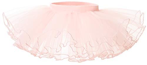 Gonna Tulle Bambina tutù Danza Balletto Ragazze Festa Abito Gonne Costume per Bambine Rosa M 5-7 Anni