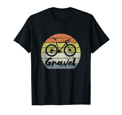 GRAVEL BIKE Ciclocross Bici Da Ghiaia Bici Da Corsa vintage Maglietta