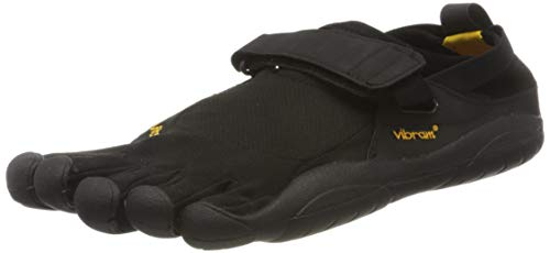 Vibram Fivefingers Vibram Kso M145, Sneaker Uomo, nero (Schwarz), 48 EU