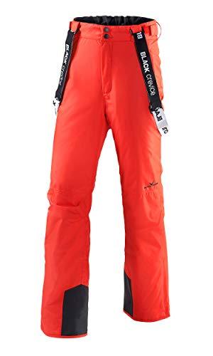 Black Crevice Pantalone da Sci Rosso IT 48
