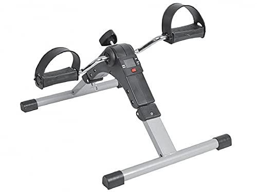 IDS Esercitatore a Pedale Pieghevole con Display Mini cyclette a pedali - Black Leg Exercise Machine - Portata max 120kg - DM di Classe I non sterile - CND: Y0399 - Rep. 2117679/R