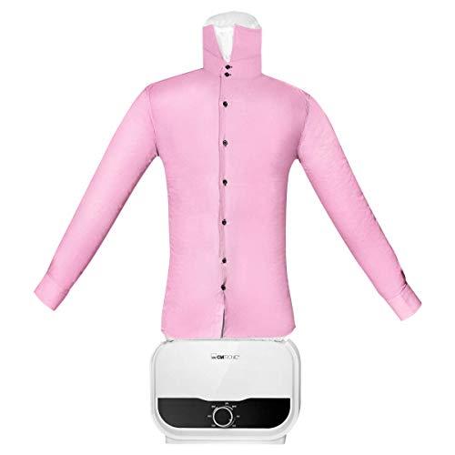 Clatronic HBB 3734 - Fascia per camicia/bluse, funzione 2 in 1, asciugatura e stiratura in un solo passo, timer continuo da 180 minuti, 1200 Watt, corpo palloncino 'One Size' (XS-S-M-L-XL-XXL)