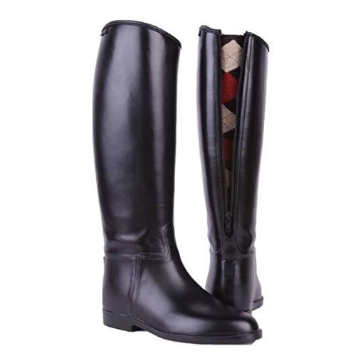 HKM 4501 - Stivali da equitazione per bambini, con chiusura lampo, impermeabili 38