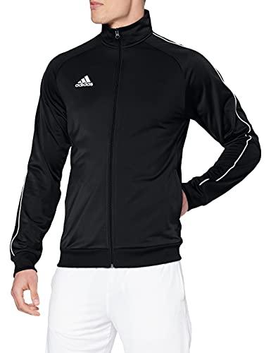 Adidas Core18 PES, Giacca Uomo, Nero (Black/White), S