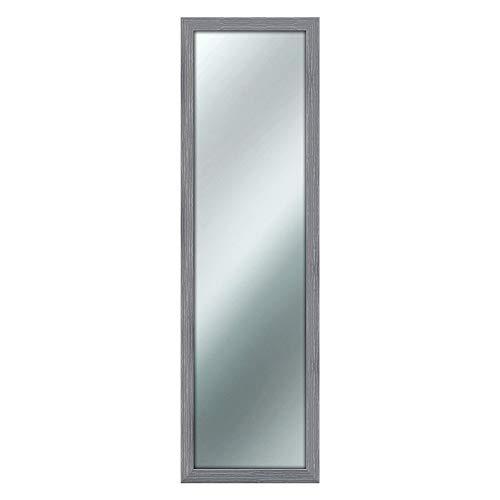 Specchio da parete MIRROR SHABBY CHIC 40X125 cm colore Grigio