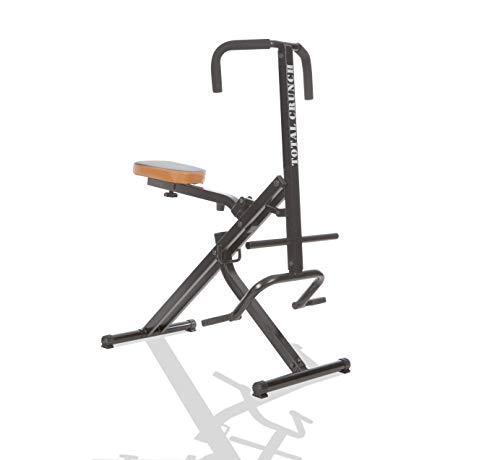 Mediashop TOTAL Crunch - Attrezzo per allenamento a casa, per bicipiti, latissimo e addominali, spalle, schiena e delto, leggero allenamento cardio, l'originale della TV