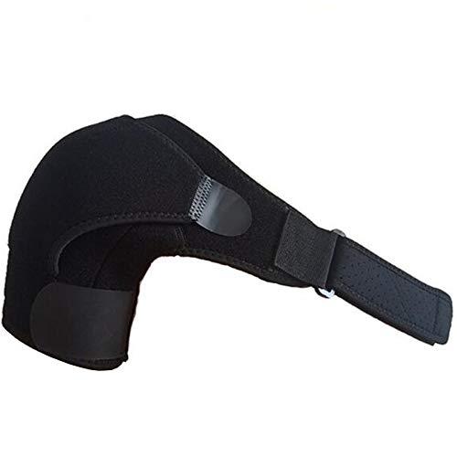 Fengshunte - Tutore sportivo per spalla, regolabile, per alleviare il dolore alla spalla e la lussazione delle articolazioni della spalla, per uomini e donne