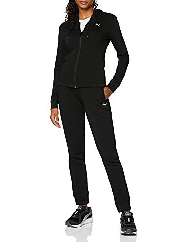 Classic HD. Sweat Suit TR, Tuta Sportiva Donna, PUMA Black, S