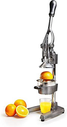 Lumaland Spremiagrumi Manuale Professionale - Spremi Melograno, Arance, Limoni, Agrumi - Spremiagrumi a Leva di alta qualità - Acciaio Inossidabile
