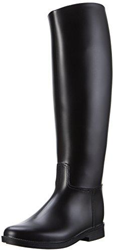 PFIFF 101658 Glasgow - Stivali da Equitazione in PVC, Taglia 40, Colore: Nero