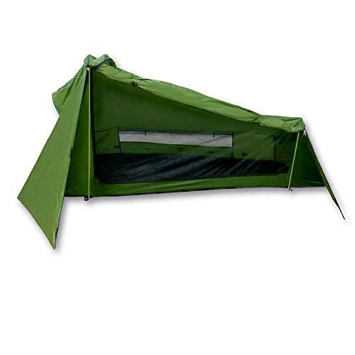 mapuera Tenda Trek Santiago Verde, 1,15 kg, ingombro Minimo, la Tenda Leggera per 1 Persona