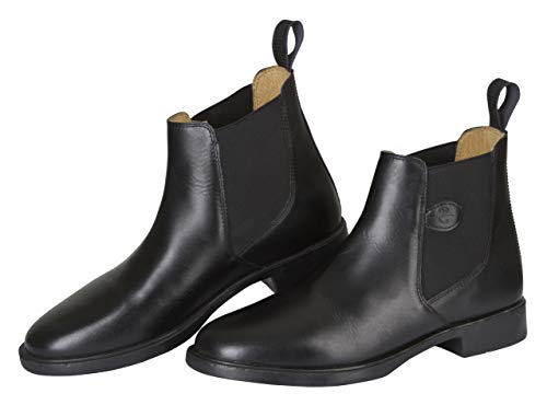 Kerbl, Reitstiefelette Leder Classic, Stivali da equitazione, Unisex adulto, Nero, 42 EU