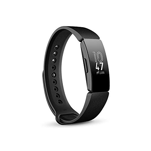 Fitbit Inspire, Tracker per Fitness e Benessere, Nero