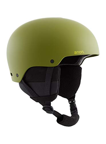 Anon Raider 3, Casco Snowboard Uomo, Green, Medium