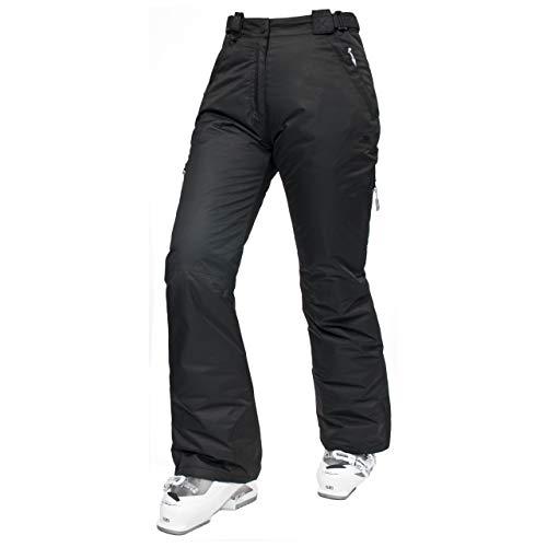 Trespass Lohan Pantaloni da sci, Donna, Nero, M