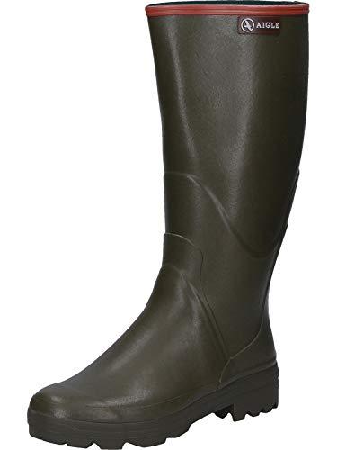 Aigle Chambord PRO 2, Stivali di Gomma da Lavoro Uomo, Verde (Kaki 001), 44 EU