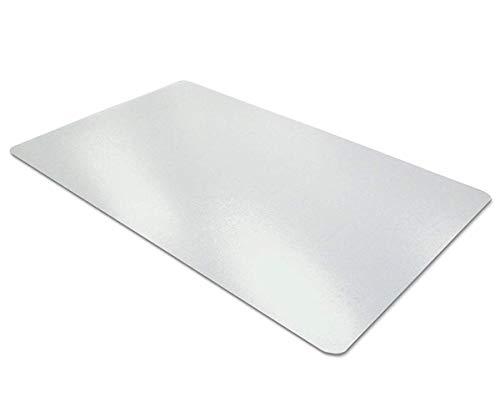 Aisakoc Sottomano per scrivania trasparente   antiscivolo   Bordi rotondi  900x400x1.5mm   Tappetino da scrittura   PVC   Textured   Tappetino per scrivania