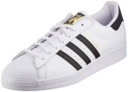 adidas Originals Superstar, Scarpe da Ginnastica Uomo, Ftwr White/Core Black/Ftwr White, 42 2/3 EU